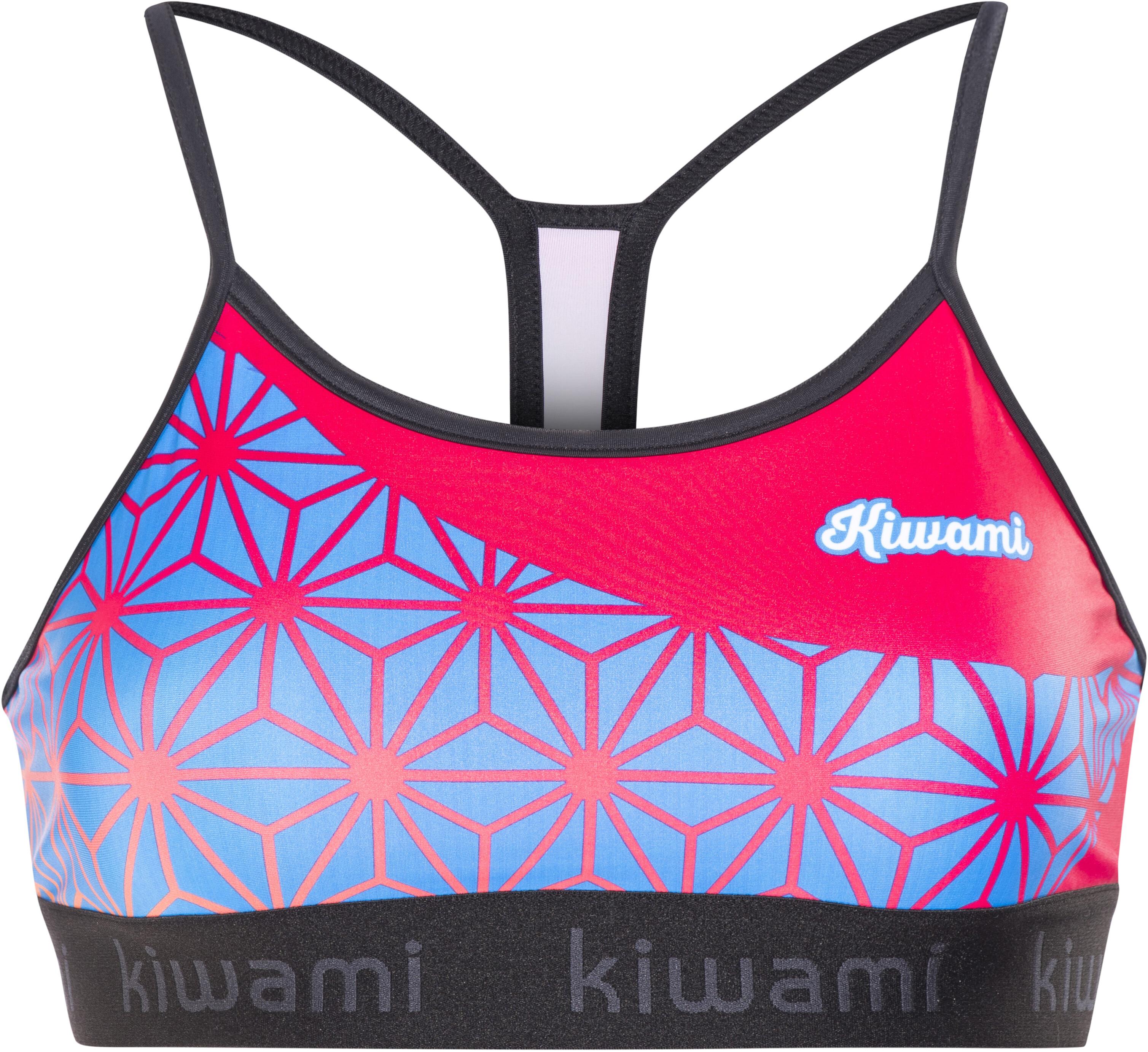 5a722a90688b86 KiWAMi Tokyo Sports Bra Women black/sakura/pink   campz.de